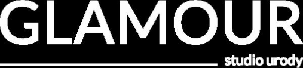 glamour logo white 500